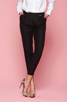 Pantaloni PrettyGirl Engaged Black
