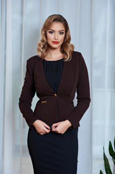 Sacou Fofy Quiet Situation Brown