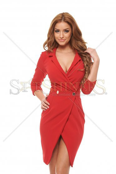 Rochie PrettyGirl Straight Red