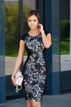 Rochie StarShinerS Your Elegance Black