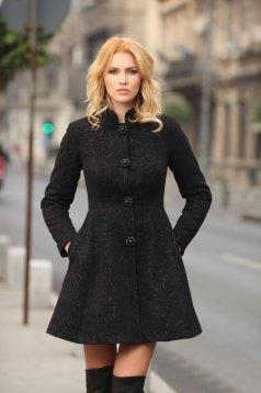 Palton Artista Elegant Concept Black