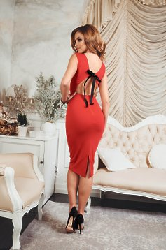 Rochie StarShinerS Spicy Bow Red