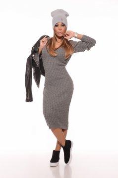 Rochie MissQ Winter Dream Grey