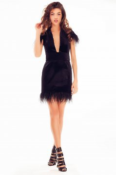 Rochie Ana Radu Night Adventure Black