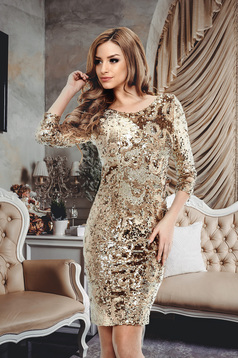 Rochie StarShinerS Evidence Gold