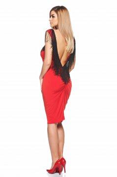 Rochie PrettyGirl Soft Dance Red