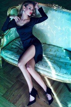 Rochie PrettyGirl Vogue Black
