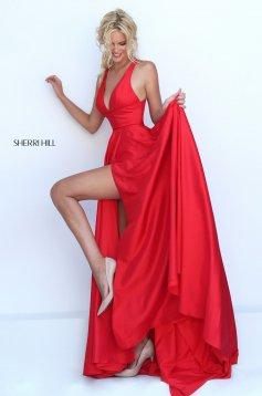 Rochie Sherri Hill 50296 Red