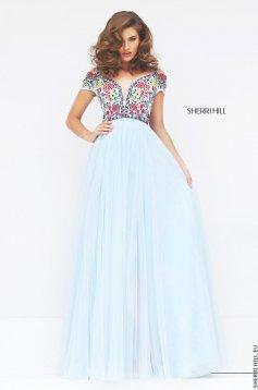 Rochie Sherri Hill 50151 LightBlue