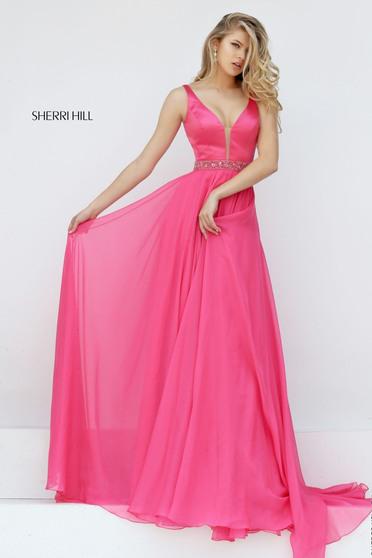 Rochie Sherri Hill 50264 Coral