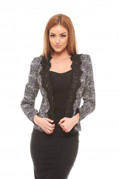 Sacou Fofy Best Dressed Black