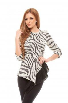 Bluza StarShinerS Cool Zebra Black