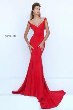 Rochie Sherri Hill 50441 Red