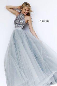 Rochie Sherri Hill 11316 Silver