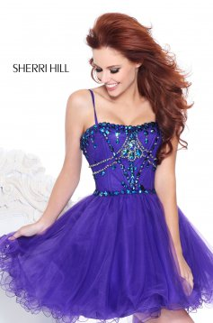 Rochie Sherri Hill 21001 Purple