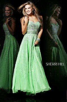 Rochie Sherri Hill 8437 LightGreen