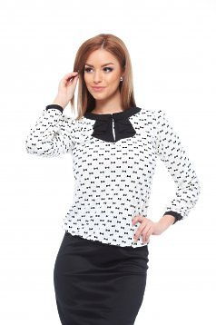 Bluza Fofy Perfect Trust White