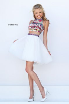 Set Sherri Hill 50140 White
