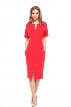 Rochie Fofy Fashionable Red