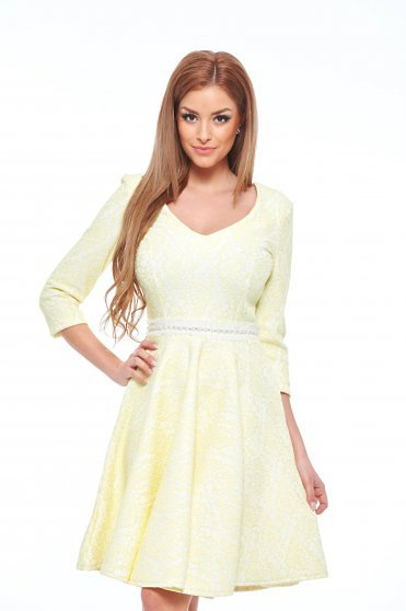 Rochie StarShinerS Brilliant Yellow
