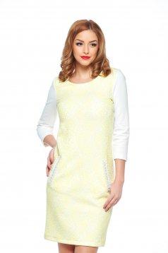 Rochie StarShinerS Spectacular Yellow