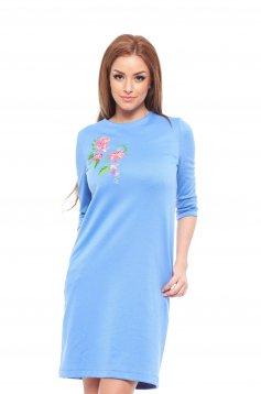 Rochie StarShinerS Brodata Exotic Blue