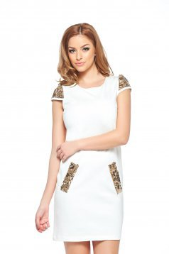 Rochie StarShinerS Cool Girl White