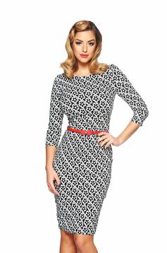 Rochie StarShinerS Illustrative Black