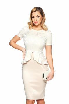 Rochie StarShinerS Festivity Time Cream