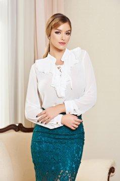 Bluza PrettyGirl Eminence White