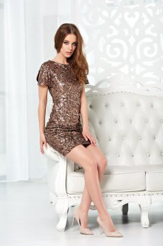 Rochie StarShinerS Mermaid Charm Brown