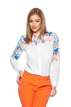 Camasa Top Secret S019456 White