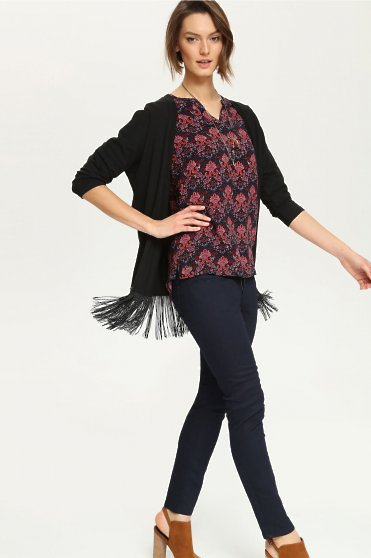 Cardigan Top Secret Illusionist Black