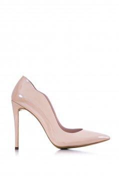 Pantofi Din Piele Naturala Sirene Cream