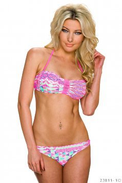 Costum De Baie Body Shape Pink