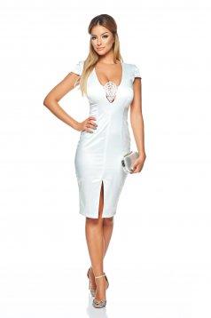 Rochie StarShinerS Captivating Elegancy White