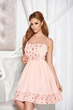Rochie StarShinerS Young Charm Peach