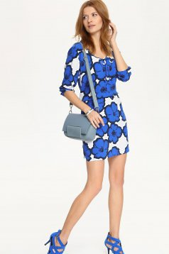 Rochie Top Secret Illustrative Blue