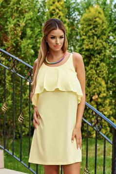 Rochie StarShinerS Hot Flame Yellow