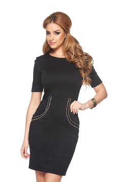 Rochie StarShinerS Aristocratic Look Black