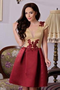 Rochie LaDonna Style Spirit Burgundy