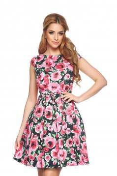 Rochie Flower Beauty Black