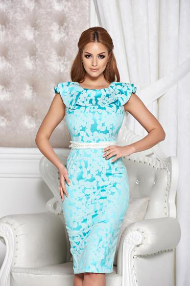 Rochie StarShinerS Distinctive Look Turquoise