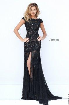 Rochie Sherri Hill 50023 Black