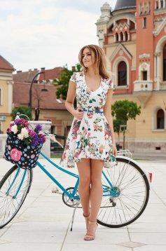 Rochie StarShinerS Flower Show White