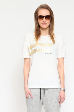 Tricou Top Secret S019840 White