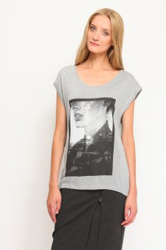 Tricou Top Secret S019845 LightGrey