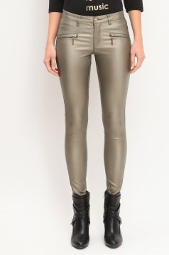 Pantaloni Top Secret S020018 Gold