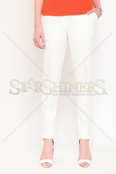 Pantaloni Top Secret Ssp2023 White