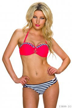 Costum De Baie Summer Look Coral
